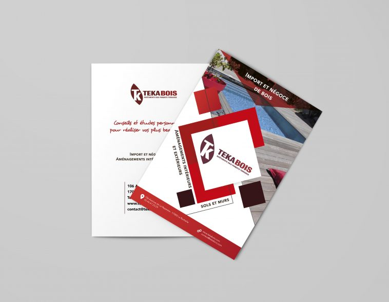 Brochure A4 recto
