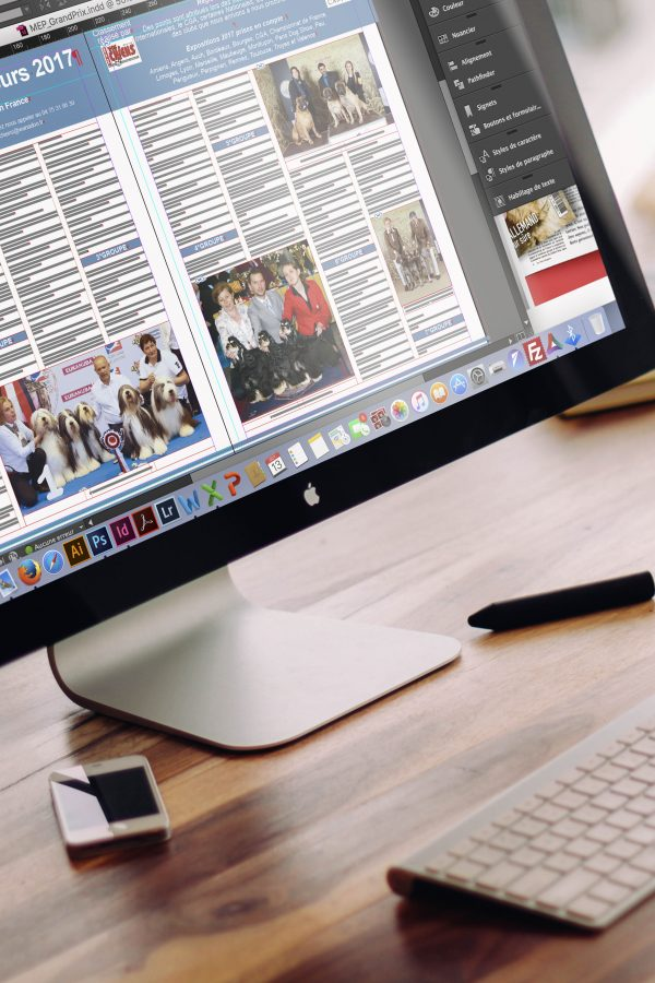 Travail InDesign