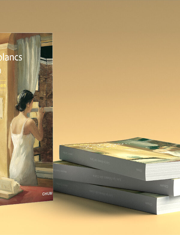 Création de couverture selon le cahier des charges de la maison d'édition.